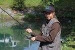 Jugendfischen Stausee Steg