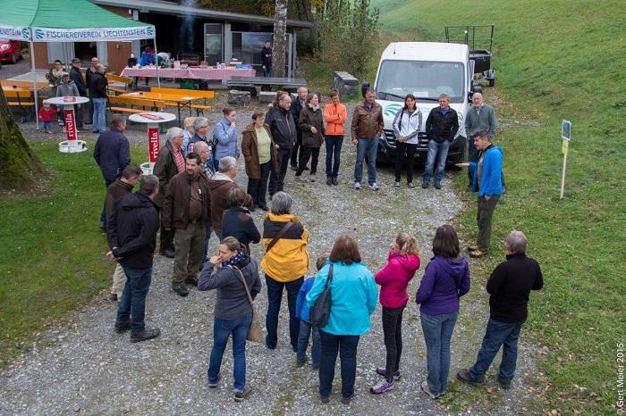 Fischereiverein Liechtenstein - Tag der offenen Fischzucht